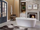 Center Drain Steel Bathtub Faucet