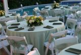 Chair and Table Covers Rental Near Me Pastel Green Satin Table Cloths White Wood Padded Folding Chairs
