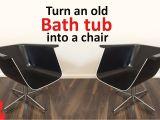 Chair for A Bathtub Turn An Old Bath Tub Into A Chair