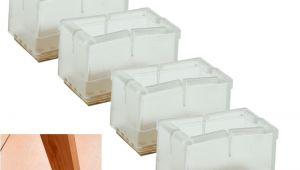 Chair Leg Caps for Square Legs Square Table Leg Floor Protectors 8 16x Furniture Table Chair Leg