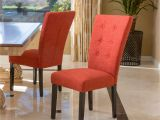 Charlie Modern Wingback Dining Chair Darrel Fabric orange Dining Chair Set Of 2 Dining Chairs and