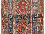 Cheap Aztec Print Rugs Kozak 193 X 121 Cm 6ft 4in X 4ft 0in Turkey Late 19th Century