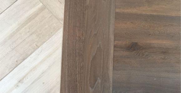 Cheap Snap On Flooring Floor Transition Laminate to Herringbone Tile Pattern Model