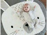 Children S Floor Mats Australia Gray Cartoon Rabbit Baby Cotton Playmat Kids toy Room