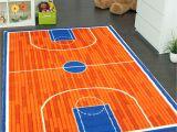 Children S Floor Mats Rugs Amazon Com Kids Rug Basketball Ground 3 X 5 Children area Rug for