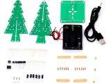 Christmas Light Controller Kit Christmas Light Controller Diy Awesome 1set 3d Christmas Tree Led