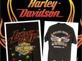 Christmas Light Spools Harley Davidson Christmas Lights H D Shirt L Black Light It Up Eagle