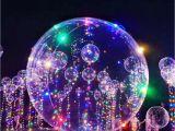 Christmas Light Spools Zljq 18 24 Inch Luminous Led Balloon 3m Air Balloon Lights Bubble