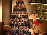 Christmas Tree Wine Rack Cordis Hong Kong S Sustainable Christmas Tree Was Created by
