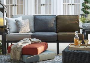 Clara Indoor Outdoor Wicker sofa Cushion Set Made with Sunbrella Fabric Shop isola Outdoor Fabric sofa Cushions Inspire Q Oasis Free