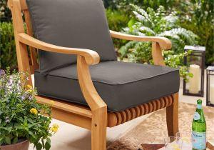 Clara Indoor Outdoor Wicker sofa Cushion Set Made with Sunbrella Fabric Shop Sunbrella Indoor Outdoor Deep Seating Cushion and Pillow Set