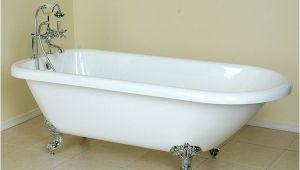 Claw Foot Bath 1500mm 70 Inch Acrylic Classic Clawfoot Tub
