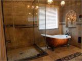 "Claw Foot Bath On Tiles 67"" Cast Iron Slipper Clawfoot Tub"