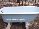 Claw Foot Bath Restoration How to Refinish A Bathtub Do It Yourself