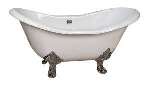 Claw Foot Bath Tub Repair Barclay Macon Premium Cast Iron Double Slipper Clawfoot