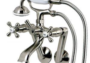 Claw Foot Bathtub Faucet Victorian 3 Handle Tub Wall Claw Foot Tub Bath Faucet