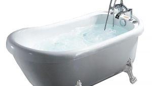 Claw Foot Bathtub Images Ariel 66 9 In Acrylic Clawfoot Whirlpool Bathtub In White