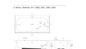 Clawfoot Bathtub Dimensions Clawfoot Tub Sizes – Malotraktory