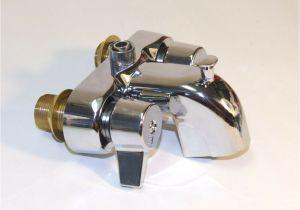 Clawfoot Bathtub Faucet Lowes Heavy Duty Chrome Clawfoot Tub Bath Diverter Faucet with 3