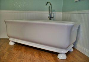 Clawfoot Bathtub Faucet Lowes M44b Pedestal Free Standing Bathtub & Faucet Upc Approved