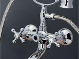Clawfoot Bathtub Fixtures Polished Chrome Clawfoot Bathtub Tub Faucet W Hand Shower