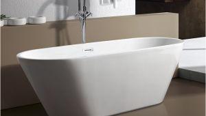 """Clawfoot Bathtub Length M 771 59"""" Modern Free Standing Bathtub & Faucet Clawfoot"""