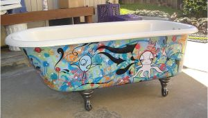 Clawfoot Bathtub Paint Antique Clawfoot Bathtub In 2019 Diy Bath