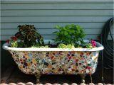 Clawfoot Bathtub Planter 11 Creative Ways to Upcycle Old Bathtub