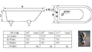 Clawfoot Bathtub Sizes Clawfoot Tub Sizes – Malotraktory