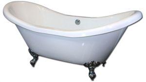 "Clawfoot Jacuzzi Bathtubs 72"" Acrylic Whirlpool Clawfoot Tub ""daviess"" Traditional"