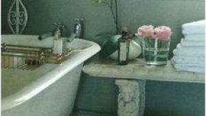 Clawfoot Tub Bench French Country Bath with Claw Foot Tub