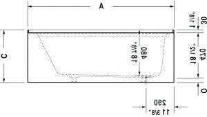 Clawfoot Tub Dimensions Clawfoot Tub Sizes – Malotraktory