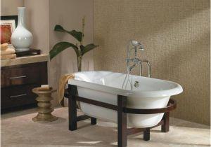 Clawfoot Tub Era Era Freestanding 6032 Edwardian Slipper Tub soaker
