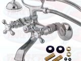 Clawfoot Tub Faucet Ebay Kingston Brass Chrome Clawfoot Tub Faucet Ks265c