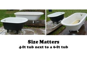 Clawfoot Tub Measurements Amazing Glaze Kitchen & Bath Renewal Clawfoot Tubs