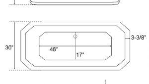 Clawfoot Tub Width Bathtub Standard Size Svardbrogard