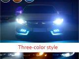Colored Fog Lights Aliexpress Com Buy Castaleca 2x Daytime Running Lights Drl Led Fog
