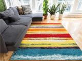 Colorful Rugs Amazon Amazon Com Blooms Multi Abstract Painting Red orange Yellow Green
