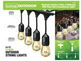 Construction Light String 24 Ft 12 Bulb Outdoor String Lights