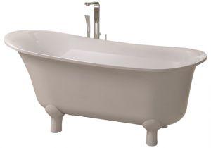 Contemporary Stand Alone Bathtub Adm White Stand Alone Resin Bathtub Contemporary
