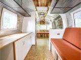 Cook Flooring Longview Tx Renovated Airstream Green Cork Floors Corrugated Metal Reclaimed