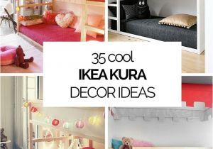 Cool Teenage Bedroom Ideas 35 Cool Ikea Kura Beds Ideas for Your Kids Rooms Digsdigs
