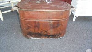 Copper Bathtubs for Sale Copper Laundry Tub Garden Planter with Handles and Lid