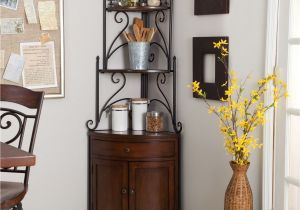 Corner Bakers Rack with Wine Storage Dining Table with Wine Rack Design Decorating with Pretty