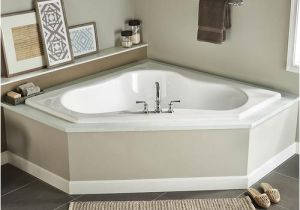 Corner Bathtubs with Jets Gemini Acrylic Air Bath at Menards