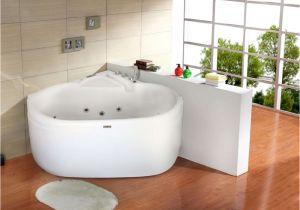 Corner Whirlpool Round Bathtub Nova Pisa Small Corner Whirlpool Bath & Airspa Baths 1250mm X