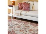 Costco Rugs Traditional Hand Tufted Vault Beige Red Traditional Border Wool Rug 5 X 8