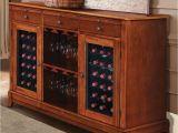 Costco Wine Racks Stainless Steel the sommelier S Dual Temperature Wine Credenza Hammacher Schlemmer