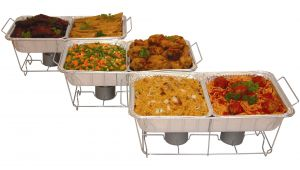 Costco Wire Chafing Rack Serve Rite 24 Piece Buffet Serving Set Walmart Com