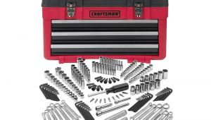 Craftsman 2 Pc. socket Rack Craftsman 182 Pc Mechanics tool Set with 3 Drawer Chest Shop Your